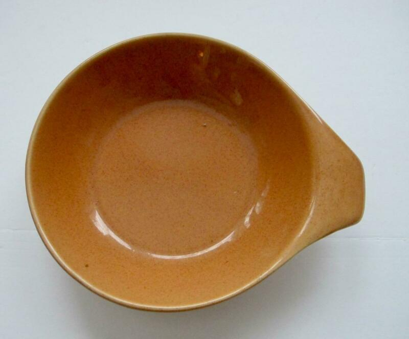 "Russel Wright Bowls 7"" MidCentury Modern Oneida Salmon Pink"