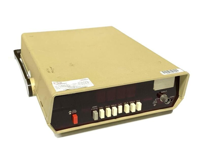 Keithley 480 Picoammeter 105-125 Volts & 210-250 Volts