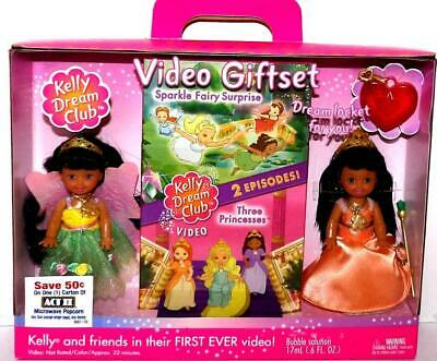 Barbie Doll KELLY AA DOLLS DREAM CLUB VIDEO GIFT SET 2002 NIB NRFB