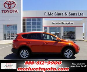 2015 Toyota RAV4 Limited W/NAV LEATHER