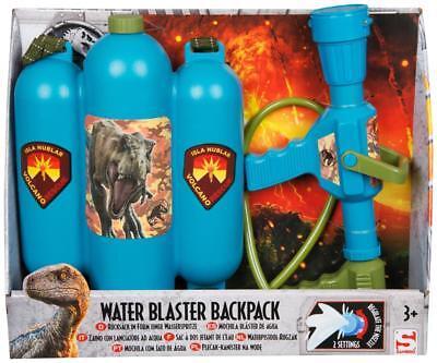 Jurassic World Wasser Blaster Soaker Rucksack Spritzen Waffe Kinder Aktion ()