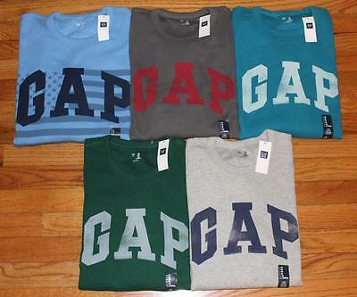 NWT Mens GAP Arch LOGO Long Sleeve Waffle Knit Alpine Thermal Shirt FREESHIP *E3