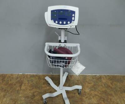 Welch Allyn Vital Signs Patient Monitor 300 Series Spo2 Nibp Temp Stand 53sto
