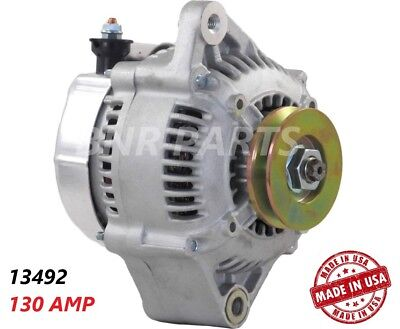 130 AMP 13492 ALTERNATOR TOYOTA PICKUP 22R 4RUNNER 2.4L High Output HD NEW