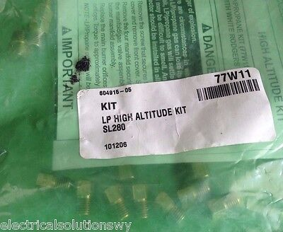 (White Rodgers LP to Nat.Gas High Altitude Conversion Kit 77W11 92-1011 for 36G/J)