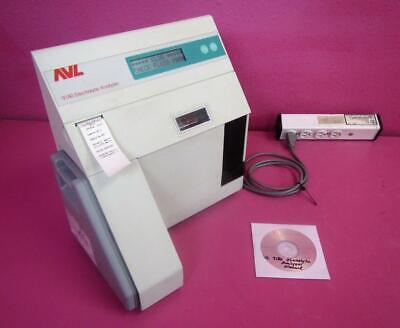 Roche Avl 9180 Electrolyte Analyzer System Sodium Potassium Chloride W Manual