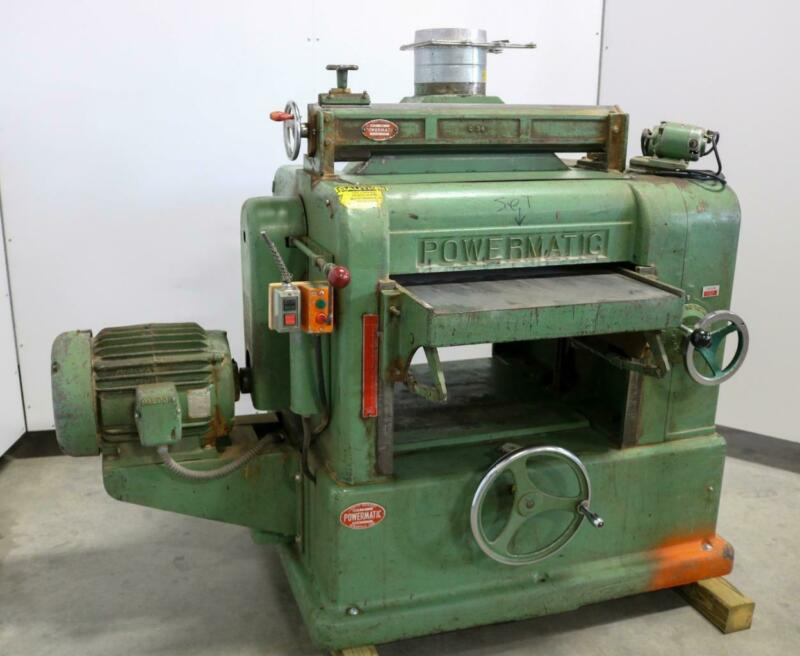 Powermatic Model 225 Wood Planer