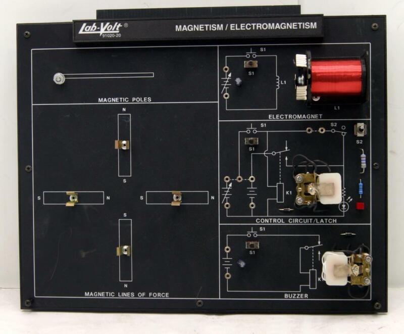 Lab-Volt Magnetism / Electromagnetism  91020-20