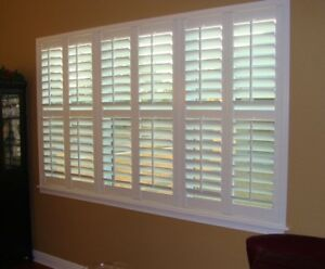 California Shutters, Blinds & Zebra! Free Estimate! 6477860121