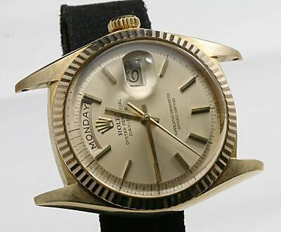 CUSTOM MADE AFTER MARKET 18K Solid Yellow Gold 36mm 1803 Day-Date President