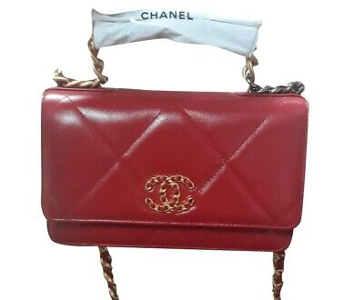Superb & Rare  Chanel 19 Red Women's Bag Limited Edition 100% Authentic New