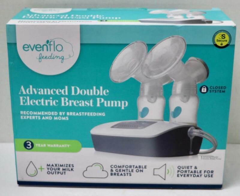 NEW - Evenflo Feeding 2951 Advanced Double Electric Breast Pump