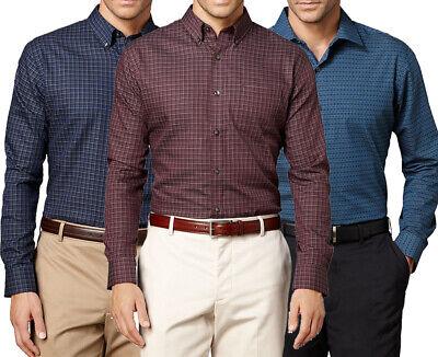 New Van Heusen Big & Tall Mens Pattern No-Iron Casual Button-Down Shirt MSRP $60 - Iron Big And Tall Shirts
