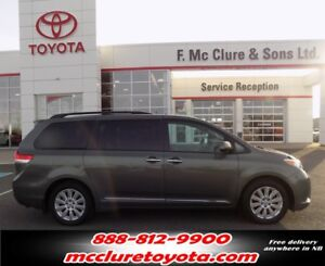 2012 Toyota Sienna Limited AWD All wheel drive