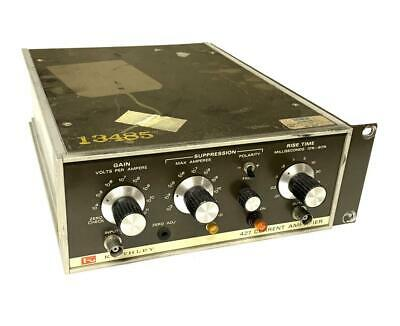 Keithley 427 Current Amplifier 117 Volts 14 Amps 234 Volts 18 Amps - As Is