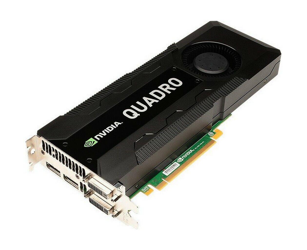 nVIDIA Quadro K5000 Workstation Grafikkarte 4 GB PCI-E   #32656