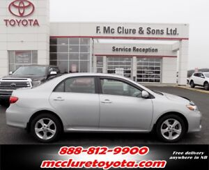 2013 Toyota Corolla LE WITH SUNROOF ALLOY WHEELS