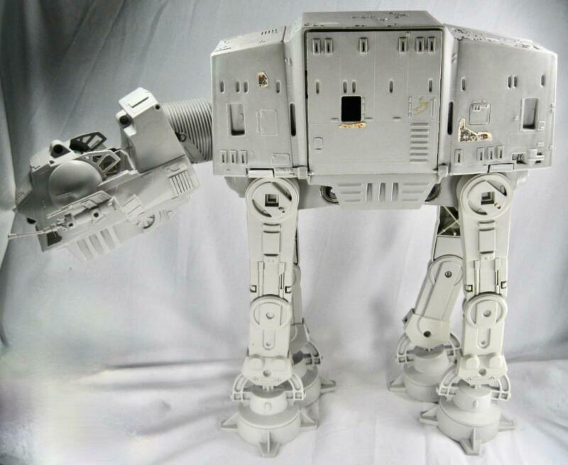 AT-AT Imperial Walker Star Wars 1981 Kenner Vintage NO COVER CHIN GUNS (O) AS IS