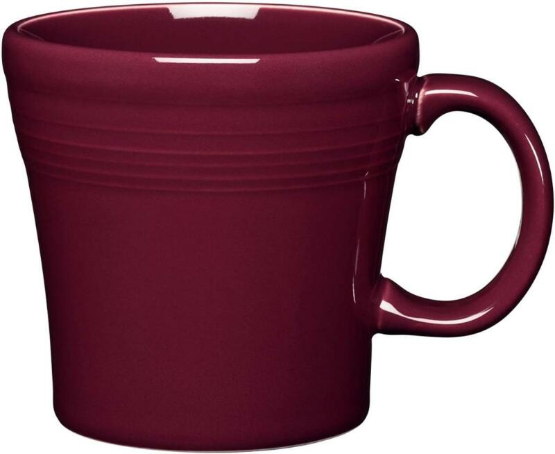 Fiesta Claret Tapered Coffee Tea Mug 15 Oz.