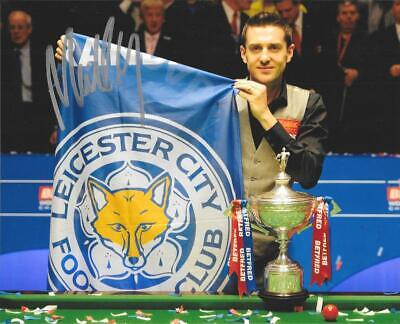 SUPERB MARK SELBY SNOOKER WORLD CHAMPION 2014/16/17 SIGNED 8 X 10 PHOTO