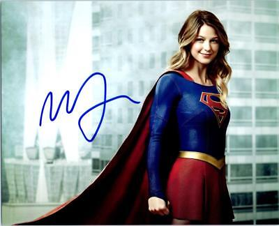 Melissa Benoist Autographed 8X10 Signed Photo   Coa