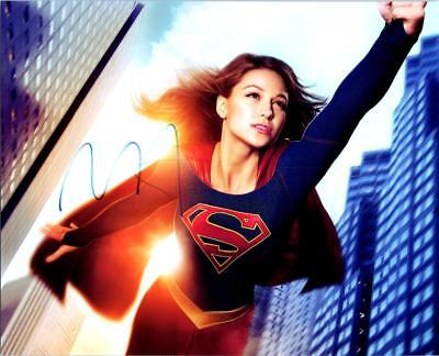 Melissa Benoist Signed 8X10 Photo Picture With Coa Great Looking Autographed Pic