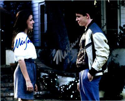 Mia Sara Matthew Broderick Autographed 8x10 Photo Signed Picture Pic Nice + COA ()