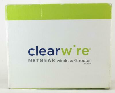 Netgear WGR614 Wireless-G Router Open Box, used for sale  Shipping to India