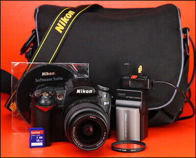 Nikon D90 DSLR Camera + Nikon 18-55mm II Lens Kit - Low Use Only 6,589 Shots