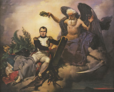 """high quality oil painting handpainted on canvas """"Deified Napoleon """"@N13769, used for sale  Shipping to Canada"""