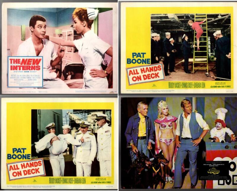 4 Vintage Lobby Cards BARBARA EDEN