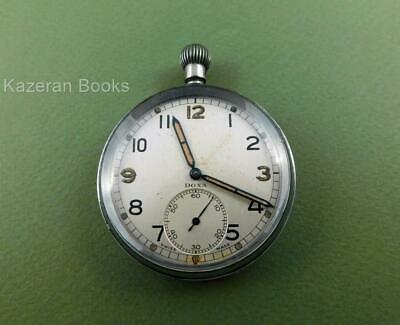 Vintage DOXA Open Face Top Wind Fob Pocket Watch Spares Repair
