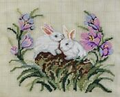Vintage PREWORKED Needlepoint