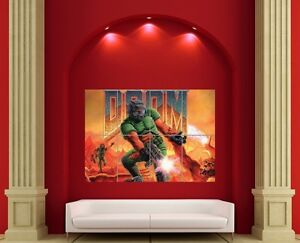 RETRO-ORIGINAL-DOOM-GIANT-POSTER-PICTURE-PRINT-X3088