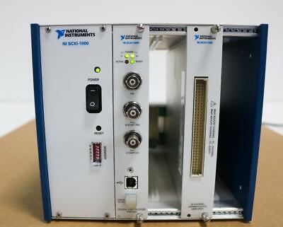 National Instruments Scxi-1000 Chassis Scxi-1600 Digitizer Scxi-1102 Module