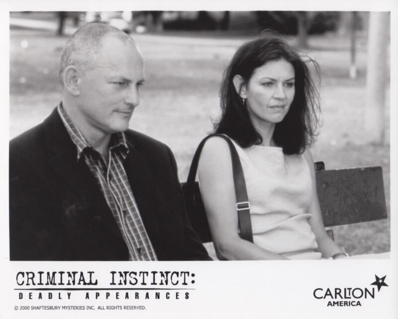 """Victor Garbor, Wendy Crewson """"Criminal Instinct"""" - Original TV Still"""