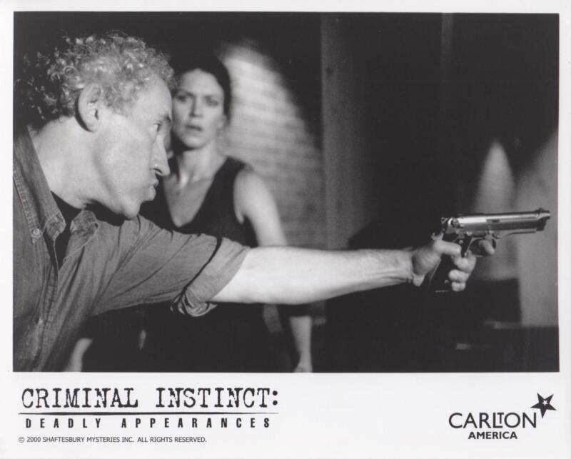 """Colombo Demers, Kenneth Welsh """"Criminal Instinct"""" - Original TV Still"""