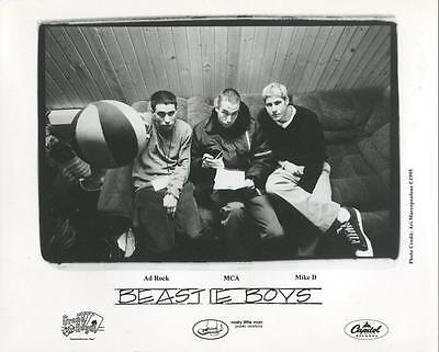 BEASTIE BOYS  original 1995 Capitol Records 8x10 promo photo