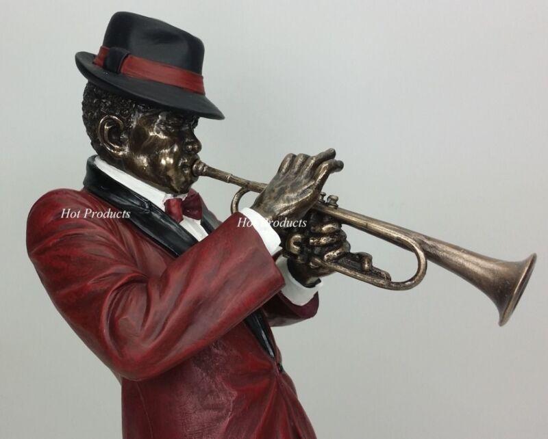 JAZZ BAND COLLECTION - TRUMPET PLAYER Home Decor Statue Sculpture Figurine