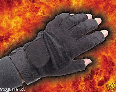 BlackHawk 8068 Spec Ops Light Assault Gloves BLACK Medium, Half Finger ()