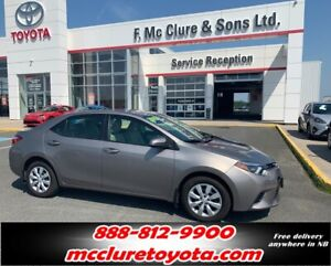 2015 Toyota Corolla LE LIKE NEW