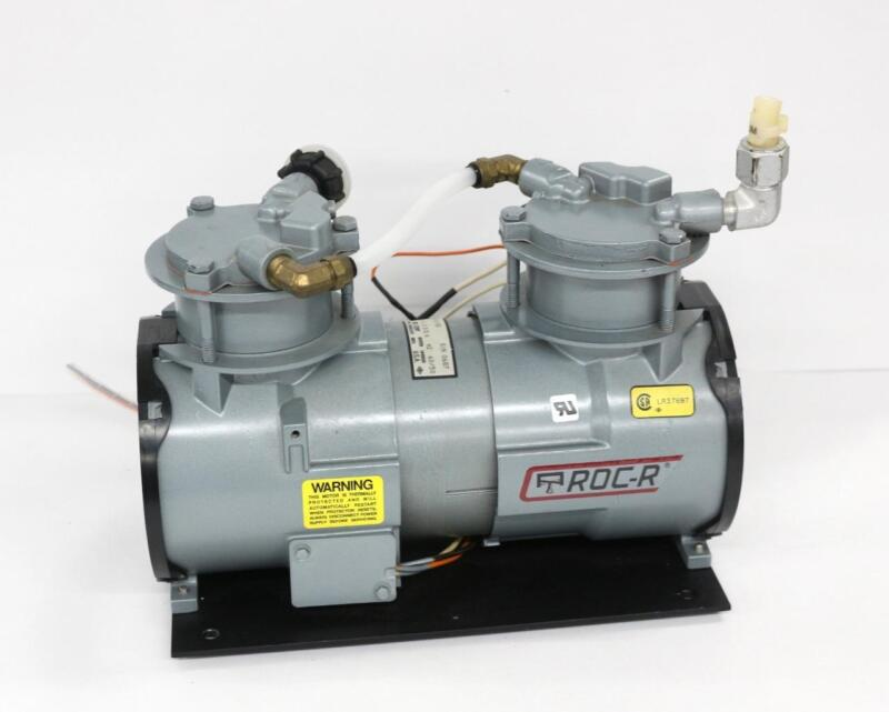GAST RAA-V111-EB Oil-Free Vacuum Pump