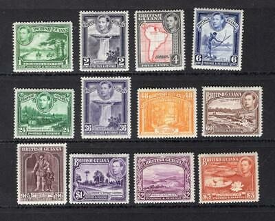 British Guiana 1938-52 Complete Set - OG MH-SC# 230-241. Cats $88.30  No Reserve