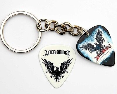 Alter Bridge Guitar Pick Keyring + Plectrum