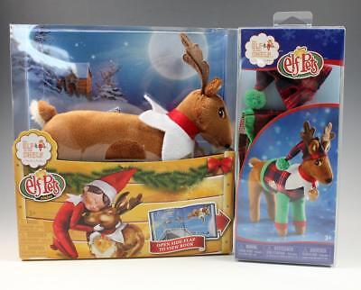 Elf On The Shelf ELF PETS Plush Reindeer Playset with Book & PJs NEW