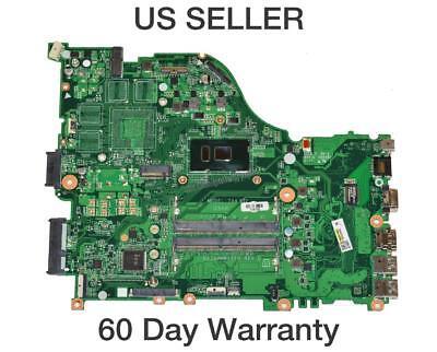 Acer Aspire E5-575 Laptop Motherboard w/ Intel i3-7100U 2.4GHz CPU NB.GD311.009