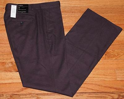 NWT Womens Banana Republic Martin Twill Fit Trouser Leg Dress Pants Vineyard *F5