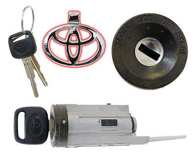 Toyota Corolla Wagon 93-97 No Tilt - Ignition Lock Cylinder W/2 Keys - Brand