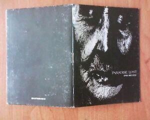 PARADISE LOST - one second - booklet with lyrics - PL, Polska - PARADISE LOST - one second - booklet with lyrics - PL, Polska