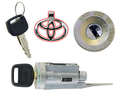 Toyota Land Cruiser - Ignition Lock Cylinder w/2 New Keys - Brand New OEM!